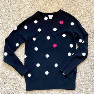 Cashmere Polka Dot Sweater